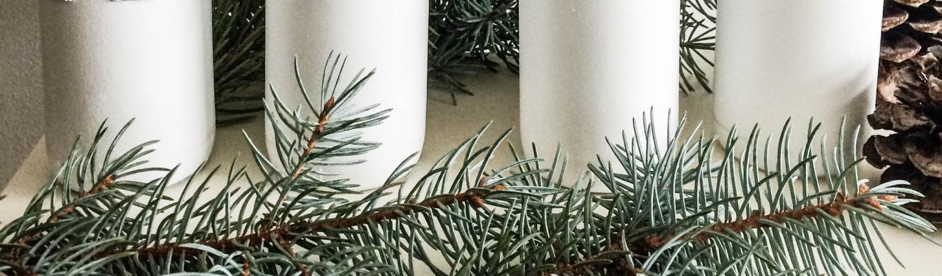 DIY Noël avec une bouteille en verre | The Weekly Brew